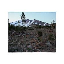 Mount Shasta 61 Throw Blanket