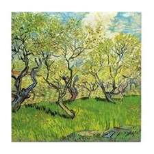 Orchard in Blossom Tile Coaster