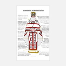 Vestments of an Orthodox Pries Decal