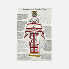Vestments of an Orthodox Priest Rectangle Magnet
