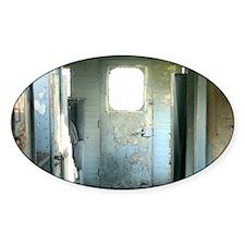 Inside Rustic Caboose Decal