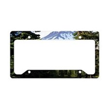 Mount Shasta 18 License Plate Holder