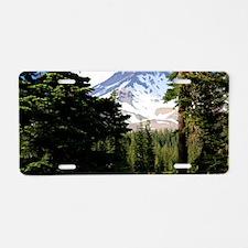 Mount Shasta 18 Aluminum License Plate