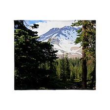 Mount Shasta 18 Throw Blanket