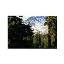 Mount Shasta 18 Rectangle Magnet