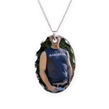Randal Turner Barihunk Necklace Oval Charm