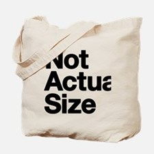 *Not Actual Size Tote Bag