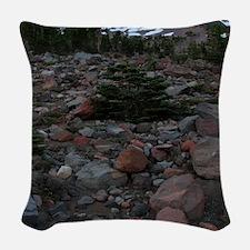 Mount Shasta 62 Woven Throw Pillow