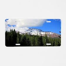 Mount Shasta 8 Aluminum License Plate