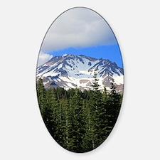 Mount Shasta 9 Sticker (Oval)
