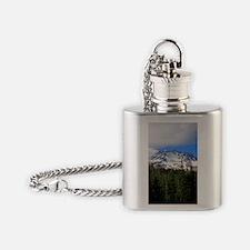 Mount Shasta 9 Flask Necklace