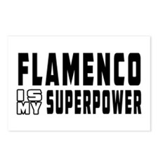 Flamenco Dance is my superpower Postcards (Package