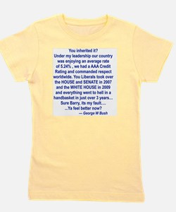 YOU INHERITED IT.pub Girl's Tee