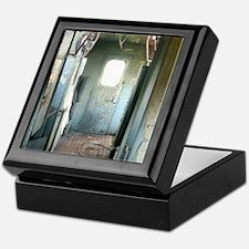 Inside Rustic Caboose Keepsake Box