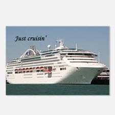 Just cruisin': Dawn Princ Postcards (Package of 8)