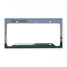 Just cruisin': Dawn Princess License Plate Holder