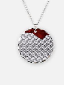Decorative Damask Necklace