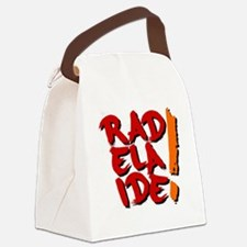 rAdelaide tee shirts Canvas Lunch Bag
