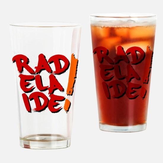 rAdelaide tee shirts Drinking Glass