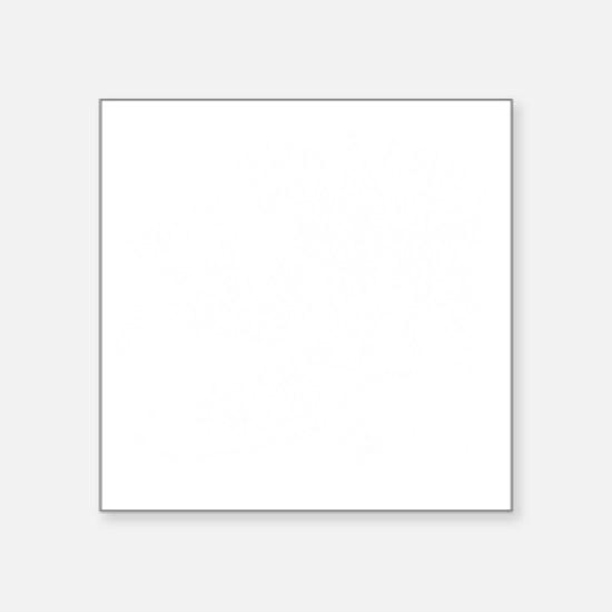 """Devil Dog Chili Logo Square Sticker 3"""" x 3"""""""