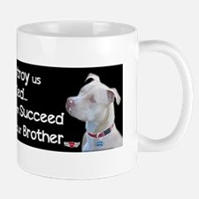 Save the Pitbull Small Small Mug