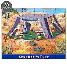 Abrahams Tent Logo Puzzle