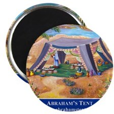 Abrahams Tent Logo Magnet