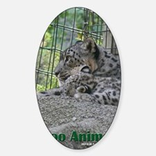 Zoo Animals/Snow Leopards Decal