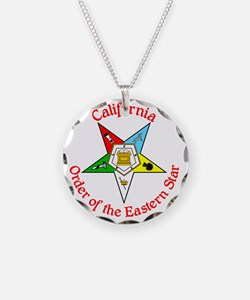 California Eastern Star Necklace