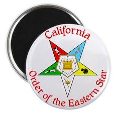 California Eastern Star Magnet