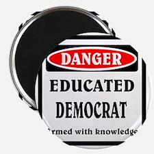 Educated Democrat Magnet