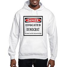 Educated Democrat Hoodie