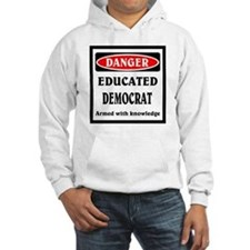 Educated Democrat Jumper Hoody