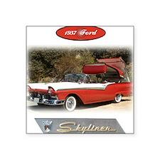 "1957 Skyliner Square Sticker 3"" x 3"""