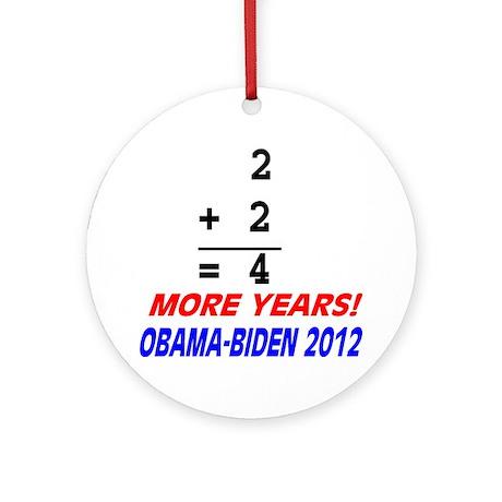 Arithmetic matters Round Ornament