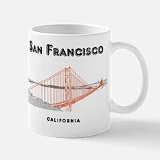 SF_12x12_GoldenGateBridge_Design3_Black Mug