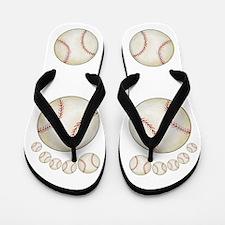 Baseball Feet Flip Flops