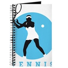 female tennis player Journal