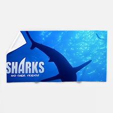 SOS Shark Calender Beach Towel
