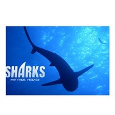SOS Shark Calender Postcards (Package of 8)