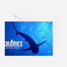 SOS Shark Calender Greeting Card