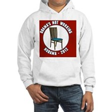 Empty Chair Red Hoodie