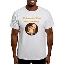 Colorado Fan on the way T-Shirt