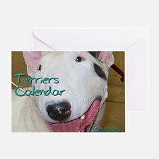 Terriers CALENDAR Greeting Card