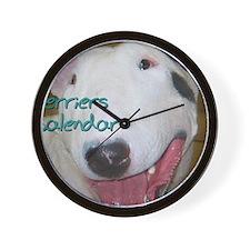 Terriers CALENDAR Wall Clock