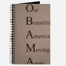 Barack Obama - Our Beautiful America Movin Journal