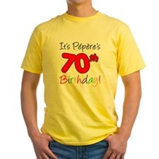 Pepere 70th Birthday T