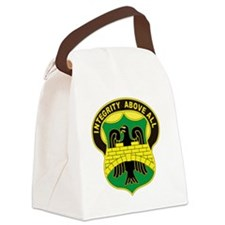 USA 22nd Military Police Battalio Canvas Lunch Bag
