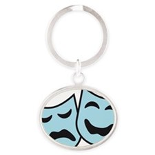 theater Oval Keychain