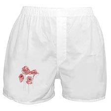 poppy flower Boxer Shorts